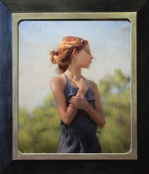 "Joseph Todorovitch, ""Fairchild,"" Oil on Linen, 30"" x 26"""
