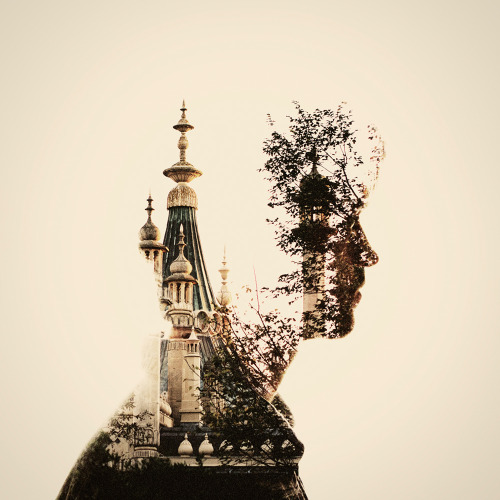 Dan Mountford | on Tumblr - Double Exposure Portraits | MMXI (2010-2011)