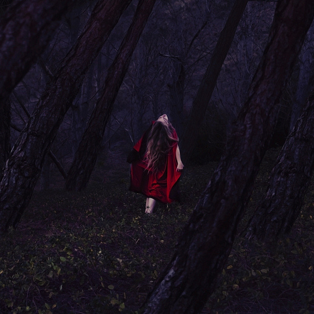 alive in the forest of old by brookeshaden on Flickr.