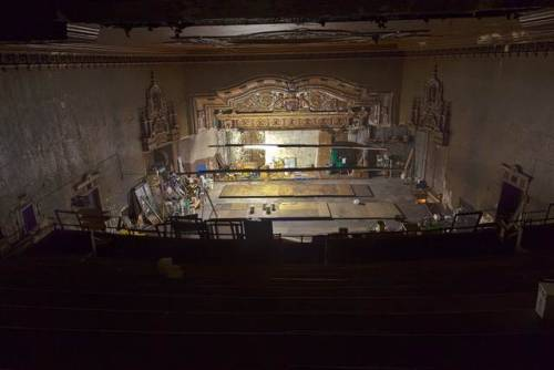 Old Theater Discovered Over A Bodega In The East Village via Gothamist