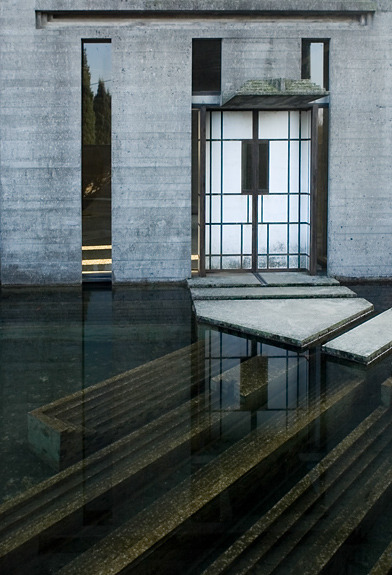 theblackworkshop:  Carlo Scarpa  Very interesting concept … for a doorstep…