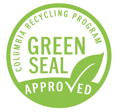 FInal Green Seal Logo's for Columbia College Chicago's Recycling Program Columbia College Recycling Columbia College Green Seal