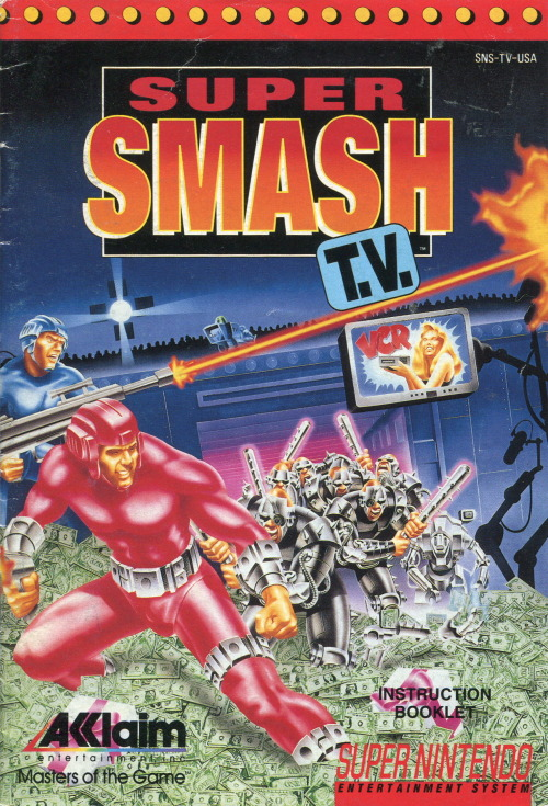 Super Smash TV manual.