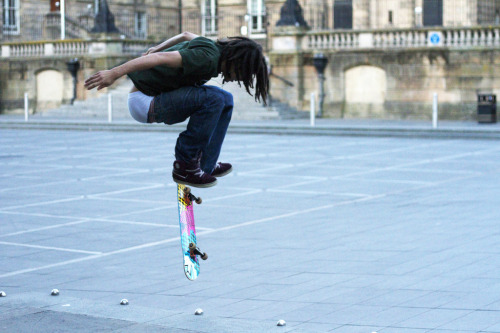 Skater Dreads Guy