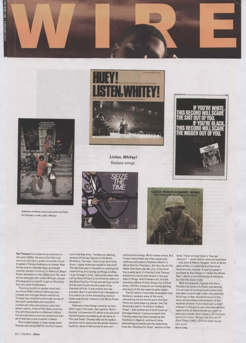 Listen, Whitey! featured in The Wire.