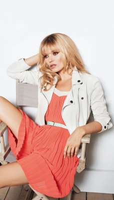 (via Kate Moss for Mango Spring 2012 Campaign by Terry Richardson)