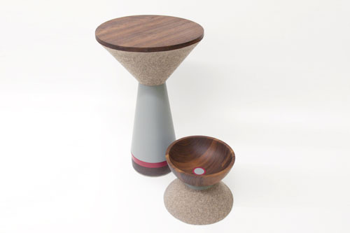 Zoë Mowat Design | Pedestal Pieces | 2012