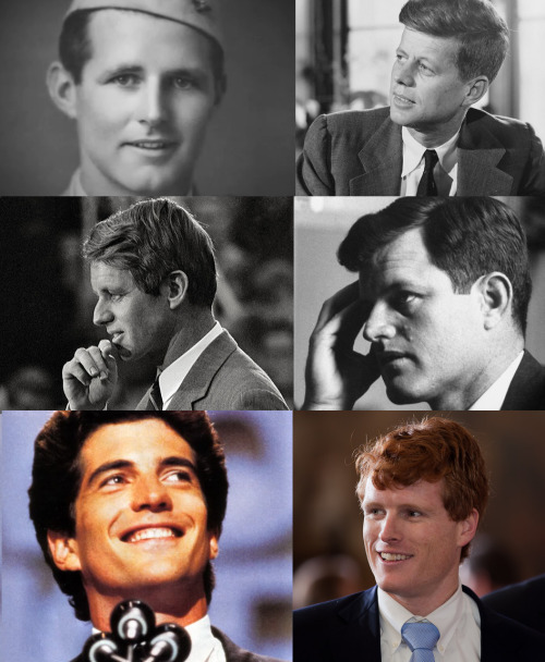 Young, rich and handsome. The Kennedy princes.