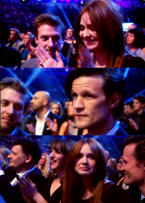 Arthur, Karen & Matt (and Steven) at the NTAs