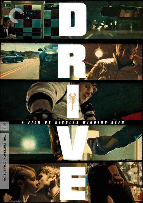 "Criterion Cover for Nicolas Winding Refn's ""Drive"" yes i've posted it before, but i've gotten request for a solo cover version of all of them"