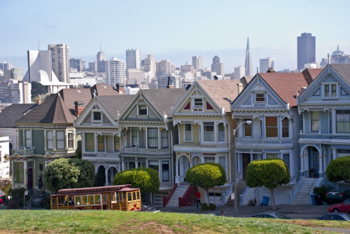Painted Ladies, San Francisco, USA Claire Cordier Photography (c)