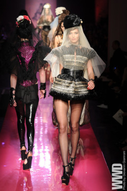 womensweardaily:  Jean Paul Gaultier Spring Couture 2012