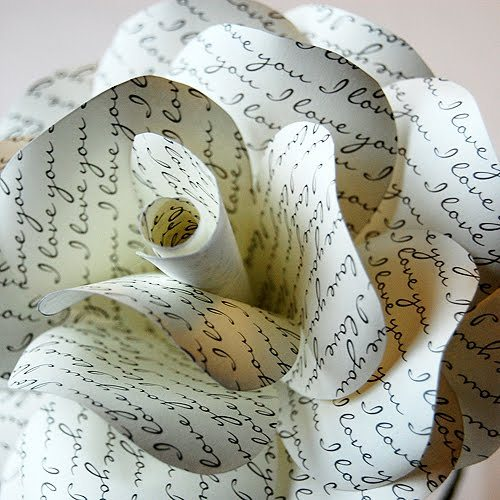 cutesiecraft:  DIY Paper Rose by ellinee