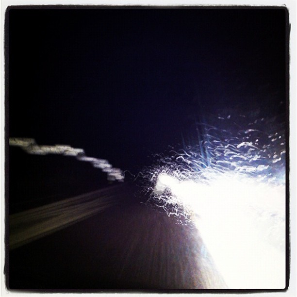 Splashing light  (Taken with instagram)
