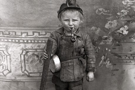 A young Utah mine worker