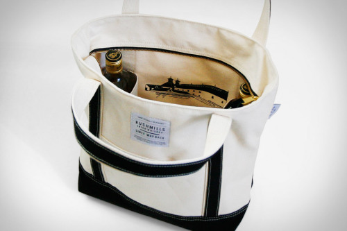 A Continuous Lean has a canvas bag made especially for carrying Bushmills. Proceeds go to the Red Cross Disaster Relief Fund. I'm having a hard time finding anything I don't like about this.
