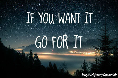 If you want it, go for it.