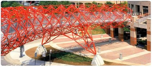 landscapearchitecture:  State Community College Pedestrian Bridge Columbus Ohio