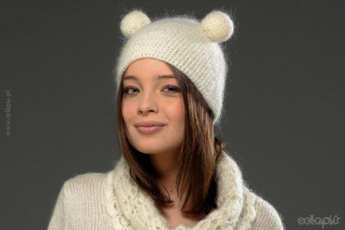 "This hat is so adorable! The creator says it's part of her ""hairstyles"" collection (doesn't it look like tiny little buns?) but I think it looks sweet even without that. Hats can be hit or miss even as they are so necessary in the chilly northeast— do you agree that this is a hit?"
