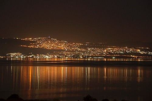 I would love to live here. This is what Tiberias looks like when you are having a dance party on the Sea of Galilee, only a bit more fuzzy after a few Cape Cods with Sprite.
