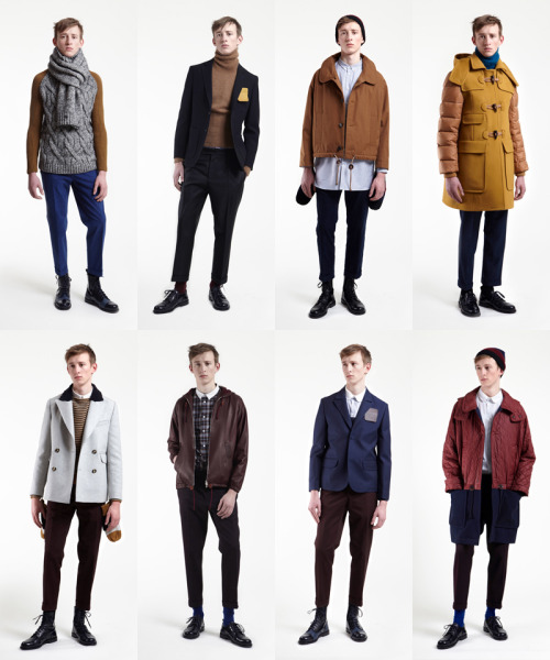 Carven Fall 2012 Menswear