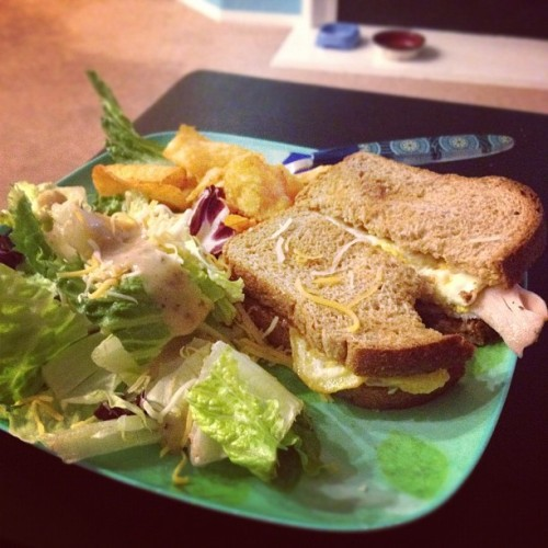 #dinner #food #sandwich #delicious (Taken with instagram)
