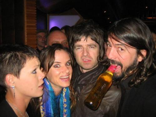 Just Noel Gallagher, Juliette Lewis and Dave Grohl.