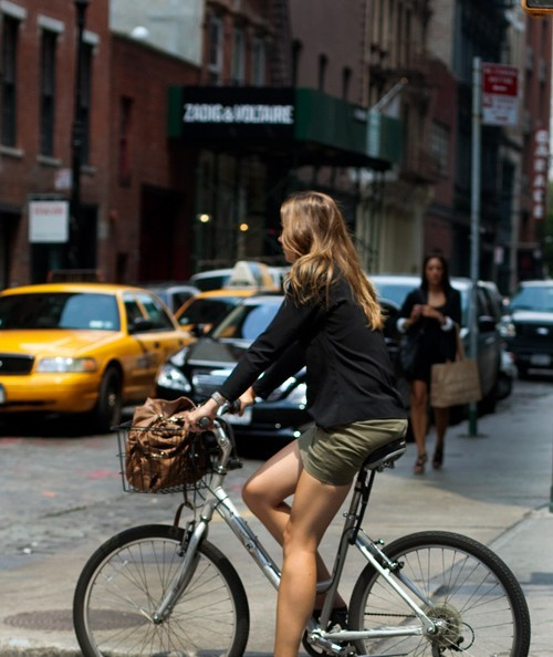 Bicycling. Good for legs.
