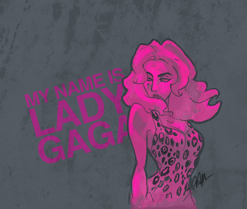 "littlemonsterhavana:  ""My Name is Lady Gaga"" by Havana Nguyen Time lapse vid:"