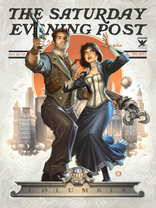 This should be the Bioshock Infinite cover.