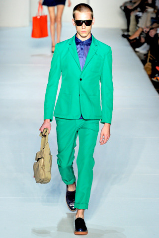 insidenaesworld:  Color block for men. MARC JACOBS. Spring 2012 RTW.