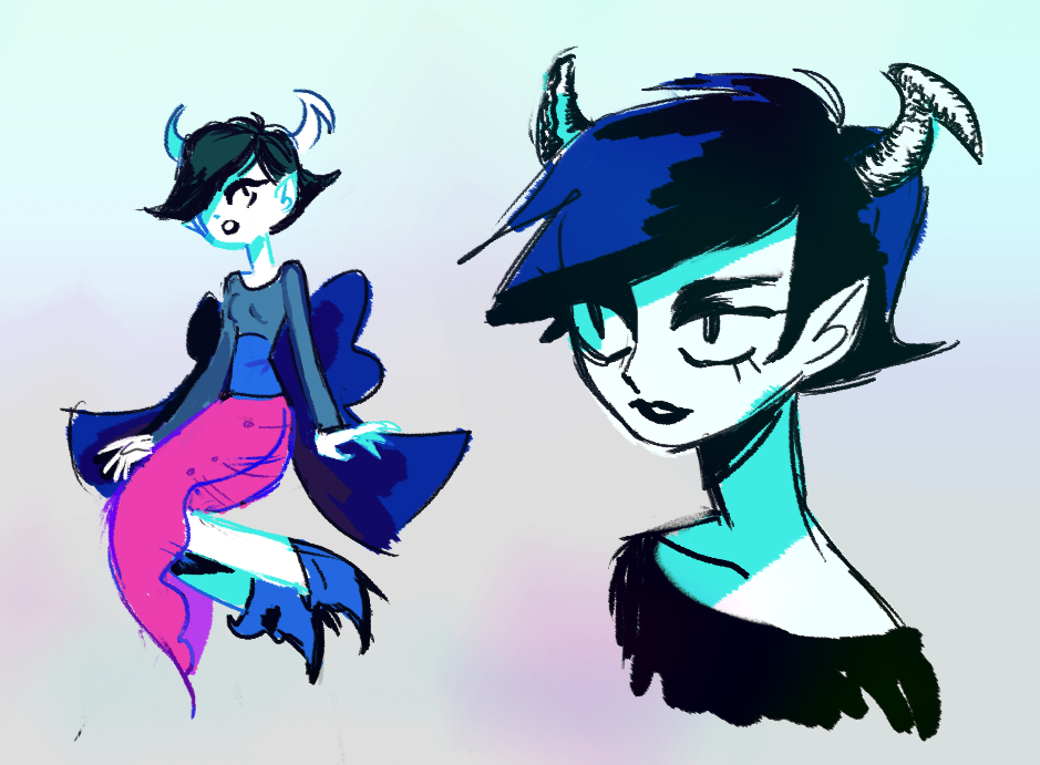 arlirrr:  big kanaya head staring at little kanaya jumping