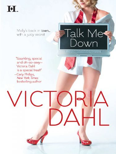 "Talk Me Down, by Victoria Dahl Okay, first of all, I am absolutely flabbergasted because this cover is actually somewhat accurate. Molly is a blonde, a writer, and red heels actually play a not-insignificant role in the book. BRAVO! A lot of you recommended Victoria Dahl for contemporary romance, and it was a good recommendation. Talk Me Down was an easy and fun read - light enough that I never felt serious angst, but with enough drama to keep it from floating away on a puffy, saccharine cloud. Molly is a writer of erotic fiction (so already a girl after our own heart) who moves back to her hometown of Tumble Creek, Colorado because she inherits a house and it provides her a convenient escape from her creepy ex. On like, the second page, she runs into her old crush, Ben, who is now Chief of Police and of course totally sexy and smouldering. They almost immediately start hooking up, and I DO mean ""almost immediately - more impatient readers will be gratified (hurr) that the sex comes pretty early (hurr hurr) and continues throughout the book. However! Because this is a contemporary romance and there can't be problems like Heroine Is Betrothed to Another or Hero Is Secretly a Werewolf, there has to be some contrived way to keep the hero and the heroine from immediately reaching Happily Ever After. In this case, Molly believes that Ben won't approve of her profession, and I totally dismissed this as ridiculous but, to Dahl's great credit, she provides enough reasons that it seems reasonable for Molly to hide her work from Ben. There's a plot twist you can see from a mile away, a couple of other lackluster female characters (sadly, this book would not pass the Becheel Test), and the drama is, well, like I said, a bit contrived. But here's what makes this good: Molly is funny, Ben is sweet, and the sex is sexy. Molly doesn't take herself too seriously, and I get the impression that neither does Victoria Dahl. There were several moments when Molly said or did something that made me think ""I would have said that, too! If I were funny or something."" This book isn't going to change your life, but it will happily help you get through a plane ride or a commute. Definitely worth a read!"