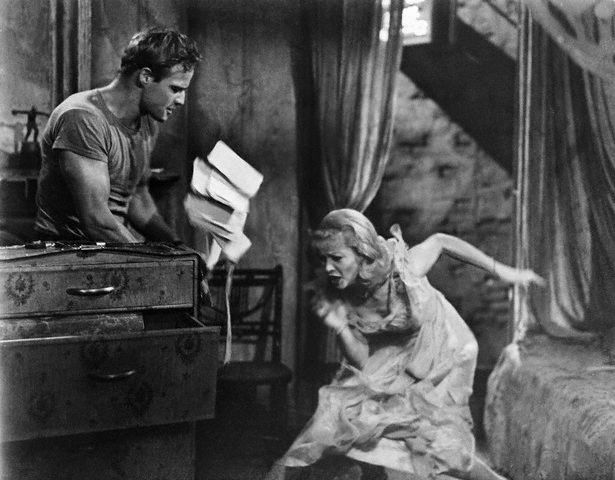 Marlon Brando and Vivien Leigh in A Streetcar Named Desire (1952)