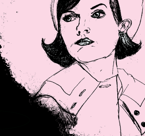 I did some drawings of MAD MEN characters. See them all on my blog:« I TRULY LIKE THAT.com  » !!!