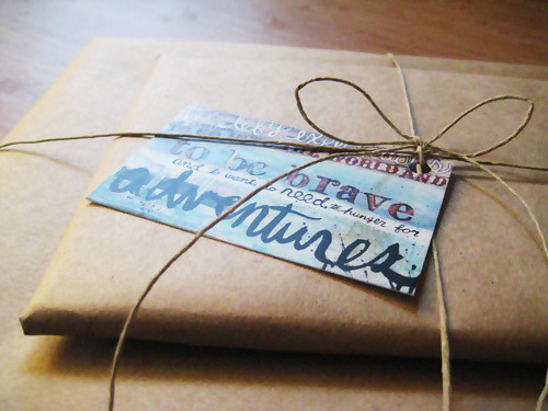 wideawakeandsearching:  Nice Package by maechevretteart on Flickr.