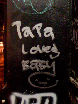 Papa Loves Baby #2. East Village.