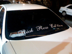 Rick Ross Edition. For Sale. Harlem.