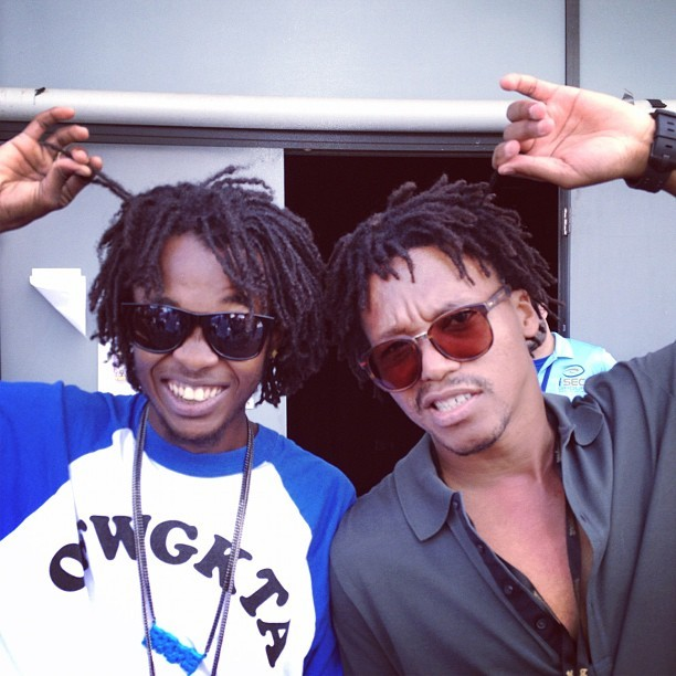 This picture is fucking epic. Mike G - Lupe Fiasco