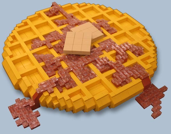 Leggo My Eggo.The Lego art of Jonathan Eric Hunter