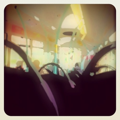 being a bus wanker (Taken with instagram)