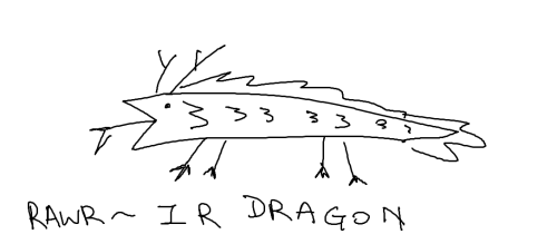 THIS IS WHAT A DRAGON LOOKS LIKE ASDF*1@#$RQD