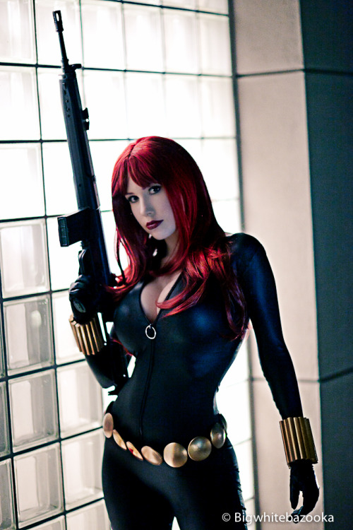 captainsblog1701:  Scarlett Johansson - eat your heart out Black Widow II by *onpaperwings