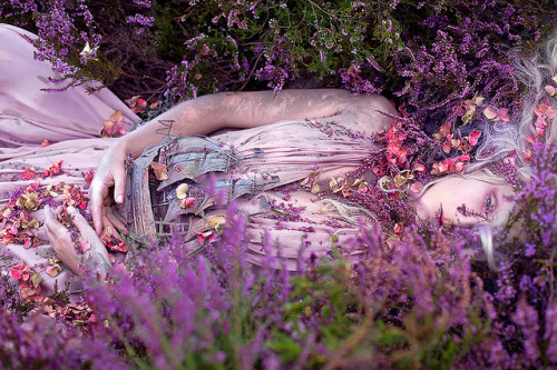 "Wonderland ""Gammelyn's Daughter, a Waking Dream"" by Kirsty Mitchell on Flickr."