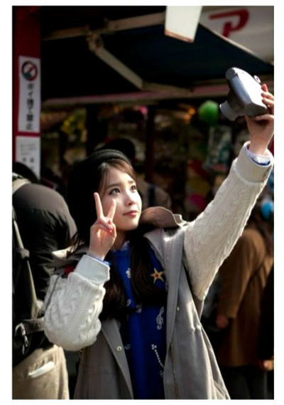 iu-jjang:  IU in Japan (by Peace)