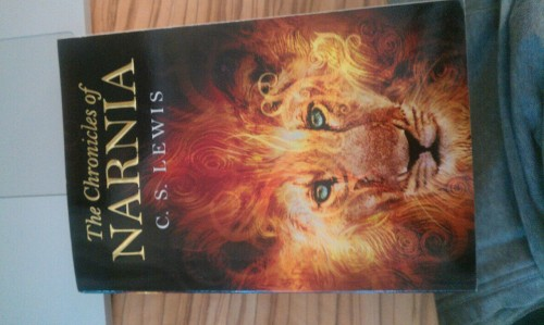 All 7 Chronicles of Narnia for €20…bargain! Reminds me of my childhood…