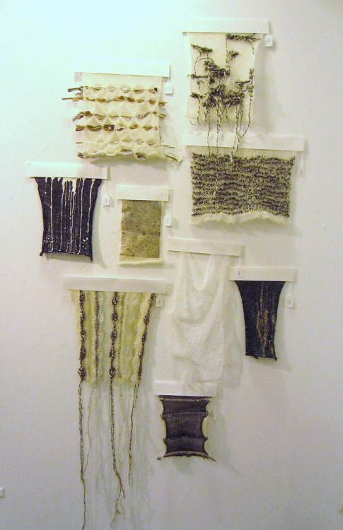 loisalbinsonknit:  Lois Albinson - Final Unit Presentation (not the best quality…)
