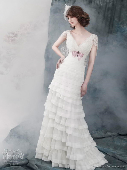 helloweddingdiary:  Alena Goretskaya 2011 bridal collection