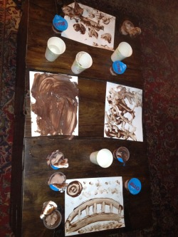 These are the pudding pictures that NewCast made at initiations. Apparently HPT 164 Cast Member Patrick Wicker (picture bottom [also picture a bottom {GOP}]) figured out a way to astral project all of his drunkenness into HPT 164 Cast Member Sam Clark (picture left, [SMOP])