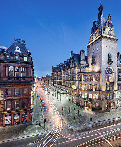 Gordon Street and the Glasgow Central Station, Glasgow, Scotland, Great Britain© NRG Smith Photography